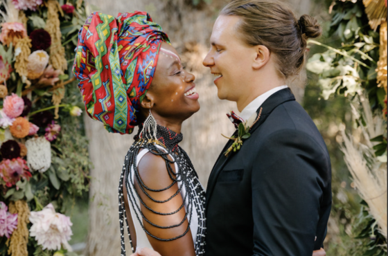 Patchwork Couple: Chris & Nozzi's South African Wedding