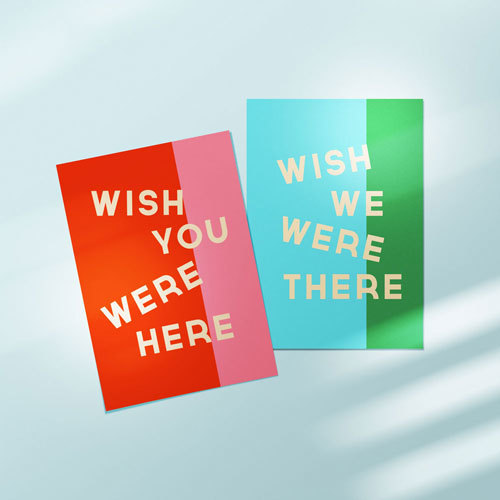 Wish Postcards